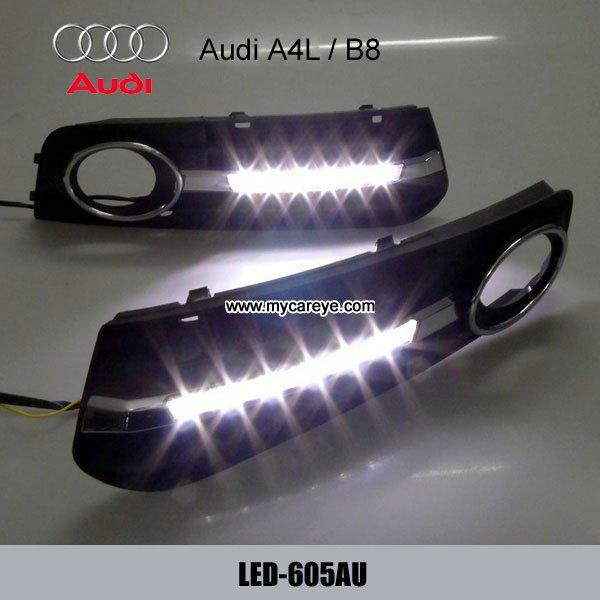 AUDI A4L DRL LED Daytime Running Lights Car parts