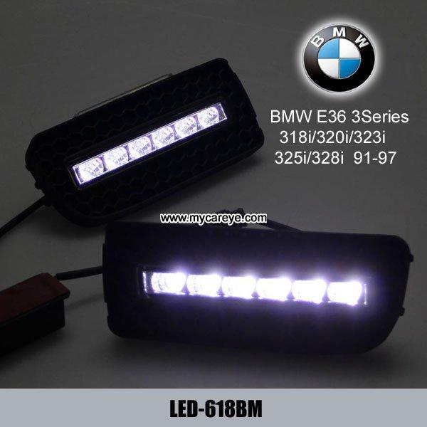 BMW E36 M3 318i 320i 323i 325i 328i DRL LED drivin