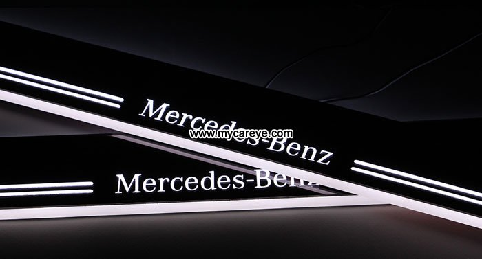 Mercedes benz e class e350 e400l car door welcome light for Mercedes benz door lights