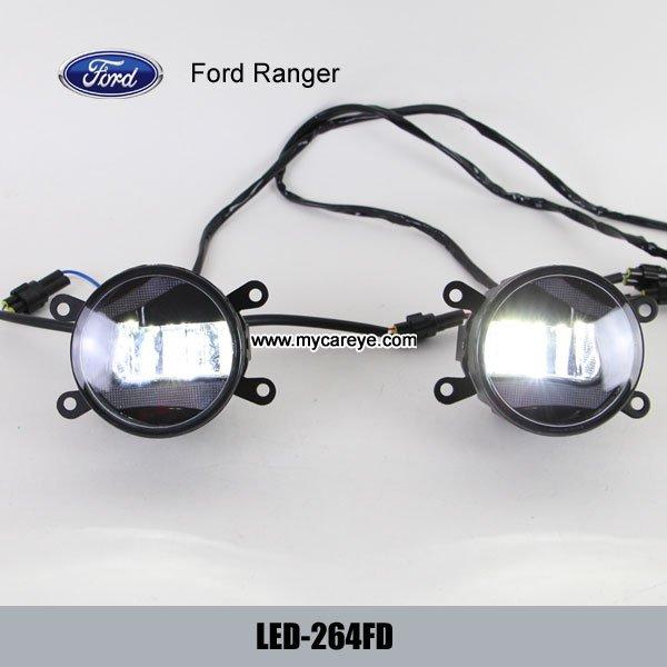 Ford Ranger car front fog lamp assembly LED daytime ...